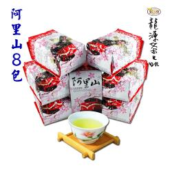 【龍源茶品】阿里山極品嫩勻高山茶葉8包組/ 無焙火(150g/包-共2斤/附提袋/高山茶)-型錄