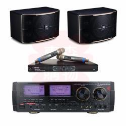 商用空間 Audio King KA-1000II 擴大機+MIPRO MR-865PRO 麥克風+JBL Pasion 10 喇叭