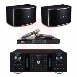 商用空間 OKAUDIO DB-8A 擴大機+MIPRO MR-865PRO 麥克風+JBL Pasion 10 喇叭