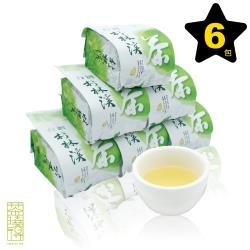 【茶曉得】杉林溪必備款水甜香醇烏龍茶葉6件組(1.5斤)