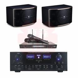 商用空間 Auska A-360 擴大機+DoDo Audio SR-889PRO 麥克風+JBL Pasion 10 喇叭