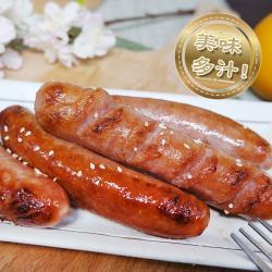 【老爸ㄟ廚房】低脂鮮嫩原味雞肉香腸 6包組(300g±3%/包)