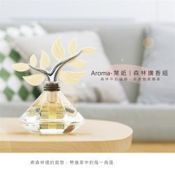 【Gdesign】Aroma-葉紙 森林擴香組 附 大地精油100ml、擴香葉紙3片 薰香 精油瓶
