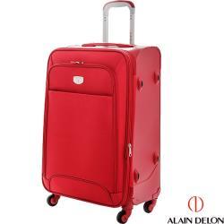 ALAIN DELON 亞蘭德倫 24吋尊爵專利出國旅行箱(紅)