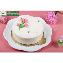 (預購)長榮空廚-香檳白桃慕斯蛋糕 (母親節限定)