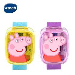 【Vtech】粉紅豬小妹-多功能遊戲學習手錶(2色可選)