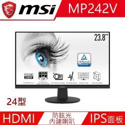 微星 MSI PRO MP242V 24型IPS護眼專業螢幕