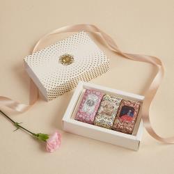 CLAUS PORTO 母親節限定 迷你香氛皂禮盒 石榴 + 葡萄柚 + 玫瑰