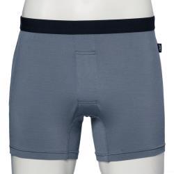 SOLIS 墨烯哥系列M-XXL素面合身四角男褲(鑄鐵灰)
