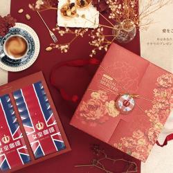 【女皇咖啡】頂級研磨濾掛式咖啡禮盒(堅果可可風味20入/盒)