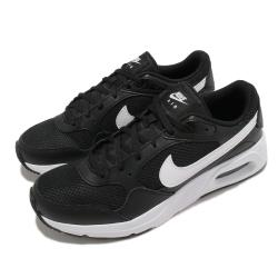 Nike 休閒鞋 Air Max SC 運動 女鞋 氣墊 舒適 避震 簡約 球鞋 穿搭 黑 白 CZ5358002 [ACS 跨運動]