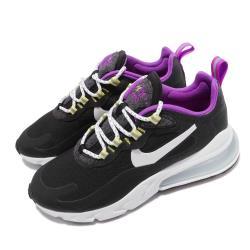 Nike 休閒鞋 Air Max 270 React 女鞋 氣墊 舒適 避震 簡約 球鞋 穿搭 黑 白 CV7956011 [ACS 跨運動]