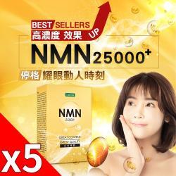 iVENOR 高純度基因修復NMN錠x5盒(30粒/盒)_DM