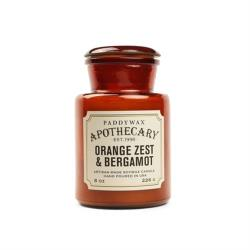 hoi!好好生活 美國PADDYWAX香氛蠟燭 Apothecary Candle-8oz 橙皮