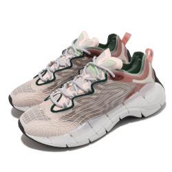 Reebok 慢跑鞋 Zig Kinetica II 運動 女鞋 輕量 透氣 舒適 避震 路跑 健身 粉 灰 FX9403 [ACS 跨運動]