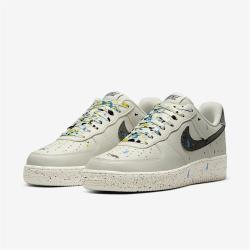 Nike 休閒鞋 Air Force 1 07 運動 男鞋 基本款 簡約 皮革 舒適 穿搭 淺灰 黑 CZ0339001 [ACS 跨運動]