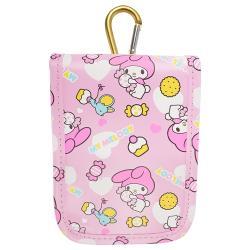美樂蒂手機套化妝包零錢包收納袋收納包隨身包 765557【卡通小物】