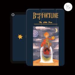 漁夫原創 - iPad 7/8 平板保護殼 10.2吋 幸運之書小王子 (三折式/軟殼/內置筆槽)