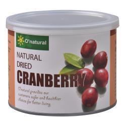 歐納丘純天然整顆蔓越莓乾 210g/罐