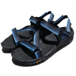 Merrell 涼鞋 All Out Blaze Web 男鞋 外出 耐磨 黃金大底 織帶 夏日 透氣 藍 黑 ML37645 [ACS 跨運動]