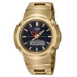 CASIO G-SHOCK 復刻1983 太陽能電波 雙顯復刻腕錶 AWM-500GD-9A