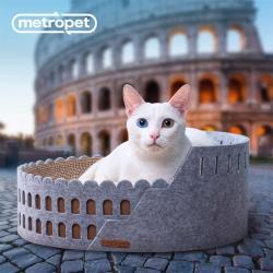 METROPET-羅馬競技場抓板貓窩