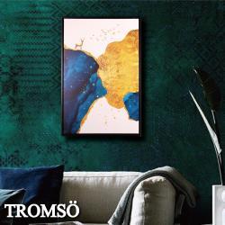 TROMSO北歐時代風尚有框畫-峰鹿鉑金WA166