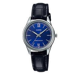 【CASIO 卡西歐】送禮首選-簡約氣質女錶(LTP-V005L-2B)