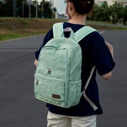 J II 後背包-極限水洗雙拉鍊後背包-果綠色-6566-24