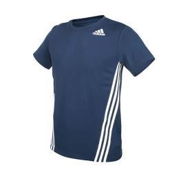 ADIDAS 男短袖T恤-亞規 吸濕排汗 慢跑 路跑 愛迪達 上衣