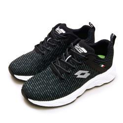 【LOTTO】女 專業輕量透氣慢跑鞋 TRON創跑系列(黑灰 2531)