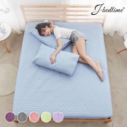 J-bedtime 100%防水鋪棉床包保潔墊-單/雙/加  任選1入