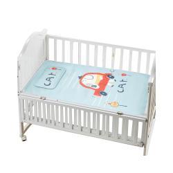 MuslinTree 寶寶嬰兒床冰絲涼蓆涼感床墊 枕頭組