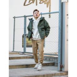 【男人幫大尺碼】K1612-美式休閒長褲