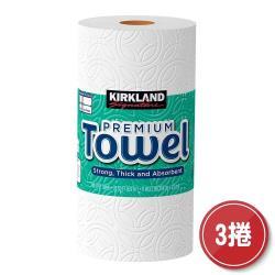 【美式賣場 】科克蘭 隨意撕特級廚房紙巾 140張 X 3捲
