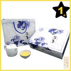 【茶曉得】頂級杉林溪深香高冷烏龍茶葉禮盒(150gx2入,1盒)