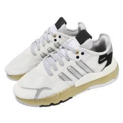 adidas 休閒鞋 Nite Jogger 運動 反光 男鞋 海外限定 愛迪達 舒適 簡約 穿搭 白 金 FW6147 [ACS 跨運動]