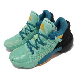 adidas 籃球鞋 D O N Issue 2 運動 女鞋 愛迪達 避震 包覆 支撐 球鞋 穿搭 綠 黑 S42751 [ACS 跨運動]