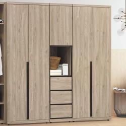 AS-柏特1.5尺衣櫃-45×57×202cm
