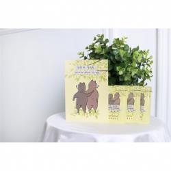 【山之翠XMollyYellow】防疫淨護 明信片+玻尿酸乾洗手液(伴手禮/聖誕/婚禮小物)