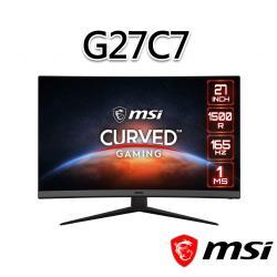 msi微星 Optix G27C7 27吋 電競螢幕