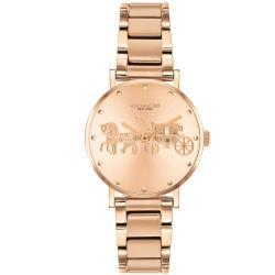 COACH 經典馬車氣質腕錶/玫瑰金/28mm/CO14503793