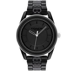 COACH 簡約時尚陶瓷腕錶/黑/38mm/CO14503774