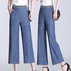 麗質達人 - 2785實穿百搭八九分褲-二款