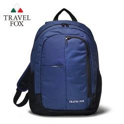 TRAVEL FOX 旅狐 休閒戶外極簡校園包 (TB706-47) 藍色