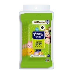 舒潔 淨99抗菌濕巾 10抽x3包x20袋