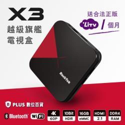 X3 次世代四核心4K HDR智慧電視盒