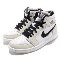 Nike 休閒鞋 Air Jordan 1 Zoom 女鞋 氣墊 舒適 避震 簡約 喬丹一代 穿搭 卡其 黑 CT0979002 [ACS 跨運動]
