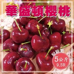 【坤田水果】西北華盛頓9.5R櫻桃 (單箱5公斤)*2箱