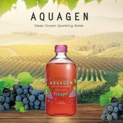 【AQUAGEN】海洋深層氣泡水-義大利葡萄繽紛風味(330mlx24瓶/箱)